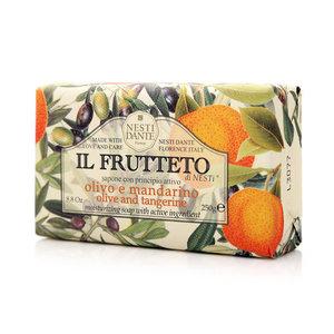 Мыло оливковое масло и мандарин ТМ Nesti Dante (Нести Данте)