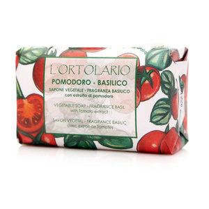 Мыло натуральное с ароматом базилика и экстрактом помидора ТМ Iteritalia (Итериталиа)
