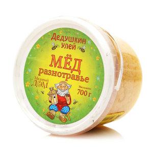 Мед разнотравье ТМ Дедушкин улей