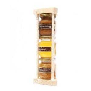 Мед набор из 3 видов ТМ Башкирские пасеки