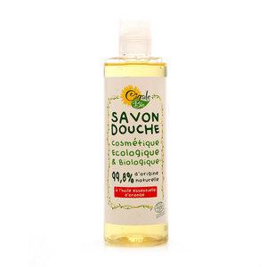 Жидкое мыло-гель с эфирным маслом апельсина ТМ Cigable Bio (Сигабль Био)