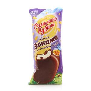 Эскимо в шоколадной глазури ТМ Солнышко Кубани
