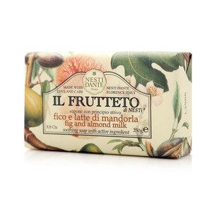 Мыло натуральное инжир и миндальное молоко ТМ Iteritalia (Итериталиа)