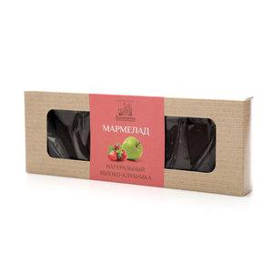 Мармелад натуральный пластовый яблоко-клубника ТМ Коломчаночка