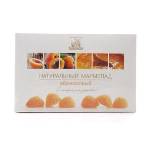Мармелад натуральный абрикосовый ТМ Коломчаночка