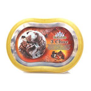 Мороженое сливочное Три шоколада ТМ 3 Choc (Чок)