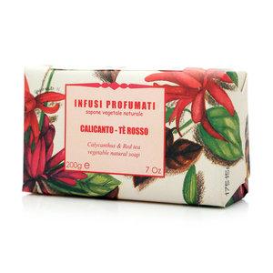 Мыло натуральное с чащицветником и красным чаем ТМ Iteritalia (Итериталиа)