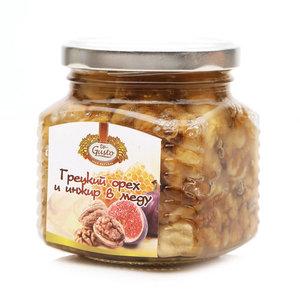 Грецкие орехи и инжир в меду ТМ Te Gusto (Зэ Густо)
