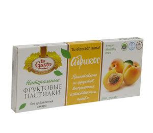 Натуральные фруктовые пастилки вкус абрикос ТМ Te Gusto (Те Густо)