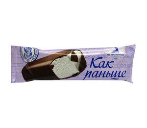 Мороженое Как раньше батончик пломбир ТМ Петрохолод