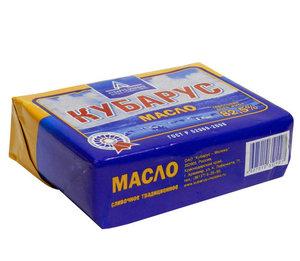Масло сливочное 82.5% ТМ Кубарус-Молоко