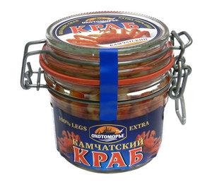 Мясо краба в с/с Экстра ТМ Охотоморье