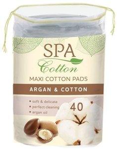 Диски ватные ARGAN ТМ Spa Cotton (Спа коттон), 40 шт.