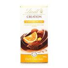Темный шоколад TM Lindt (Линдт) с начинкой из темного шоколадного мусса и апельсина