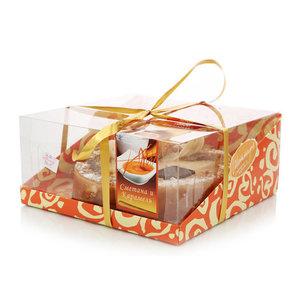 Торт Французский крепвиль сметана и карамель ТМ Малика