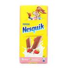 Шоколад Несквик с клубничной начинкой
