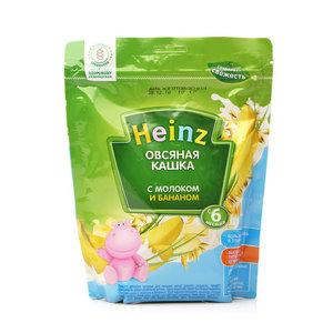 Каша овсяная с молоком и бананом ТМ Heinz (Хайнц)