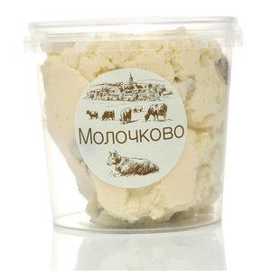Творожный продукт Домашний с изюмом 23% ТМ Молочково с растительным жиром