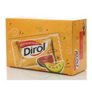 Жевательная резинка арбузно-дынный коктейль 100*2драже ТМ Dirol (Дирол)