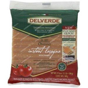 Макаронные изделия Листы для лазаньи с томатом  ТМ Delverde (Дельверде)