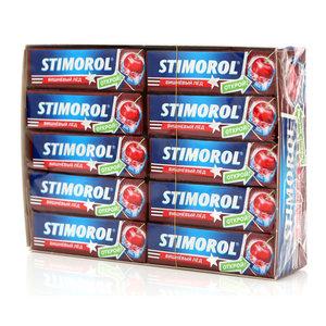Жевательная резинка Вишневый лед 30 пачек ТМ Stimorol (Стиморол)