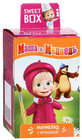 Мармелад Маша и Медведь с игрушкой ТМ Sweet Box (Свит Бокс)