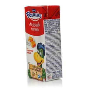 Коктейль молочный со вкусом сливочной ириски 2,5% ТМ Растишка ультрапастеризованный, обогащенный кальцием и витамином Д3