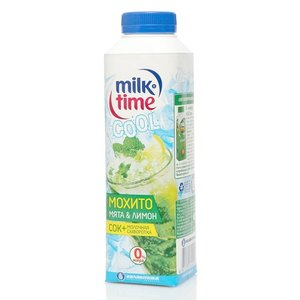 Молочная сыворотка + сок Мохито мята и лимон ТМ MilkTime (Милк Тайм)