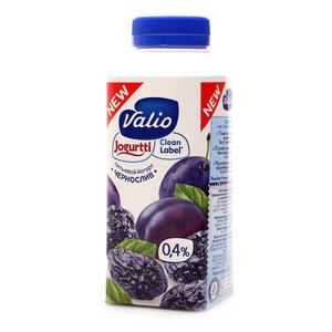 Йогурт питьевой с черносливом ТМ Valio (Валио)