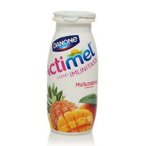 Actimel (Актимель) мультифруктовый 2,5% ТМ Danon (Данон)