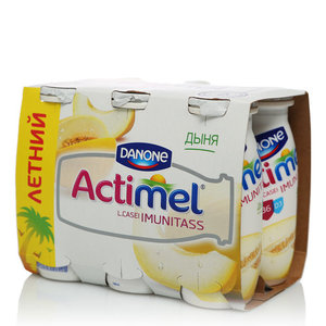 Actimel (Актимель) дыня 2,5% 6*100г ТМ Danon (Данон)