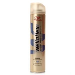 Лак для волос объем сильная фиксация ТМ Wellaflex (Веллафлекс)