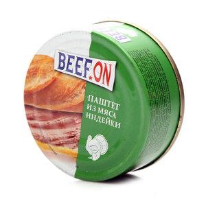 Паштет из мяса индейки ТМ Beef On (Биф Он)
