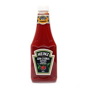 Кетчуп для стейка базилик и черный перец ТМ Heinz (Хайнц)