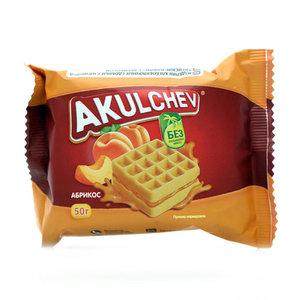 Венские вафли с абрикосом ТМ Akulchev (Акульчев)