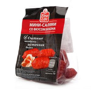 Мини-салями с беконом ТМ Fine Food (Файн Фуд)