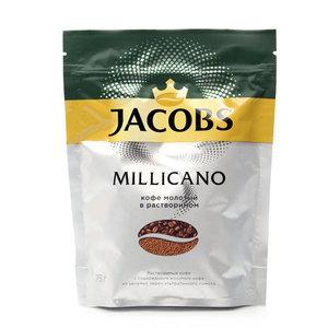 Кофе молотый в растворимом millicano (милликано) ТМ Jacobs (Якобс)