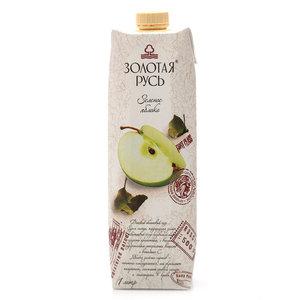 Сок Зеленое яблоко ТМ Золотая Русь