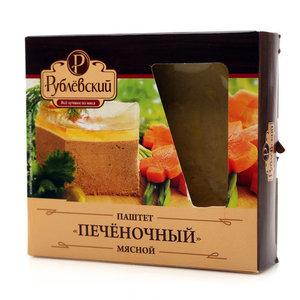 Паштет мясной печеночный ТМ Рублевский