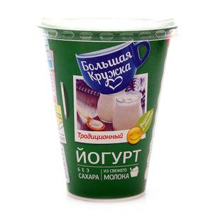 Йогурт традиционный 2% ТМ Большая Кружка