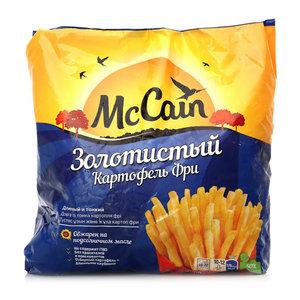 Картофель фри Золотистый длинный и тонкий замороженный ТМ McCain (МакКейн)