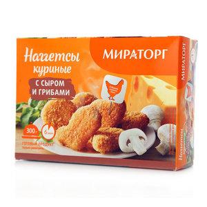 Наггетсы куриные с сыром и грибами ТМ Мираторг