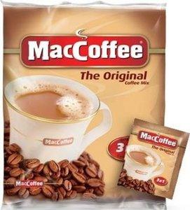 Напиток кофейный растворимый 3 в 1 в пакетиках 10*20г ТМ MacCoffe (Маккофе)
