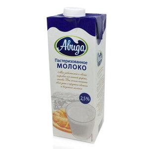 Молоко пастеризованное 2,5% ТМ Авида