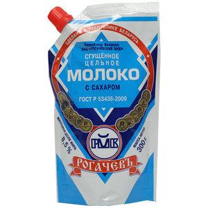 Молоко цельное сгущеное с сахаром 8,5% ТМ Рогачевъ