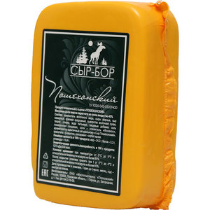 Сыр плавленый с сыром Пошехонский 45% ТМ Сыр-Бор